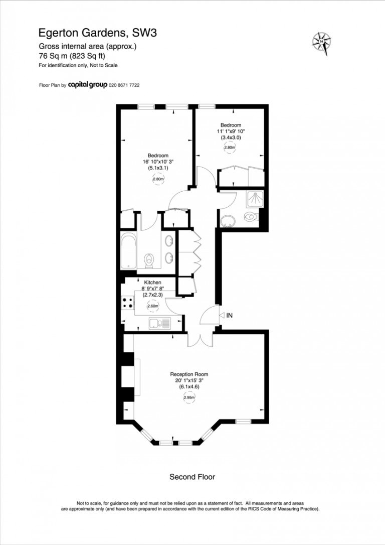 Floorplans For Egerton Gardens, Knightsbridge, SW3