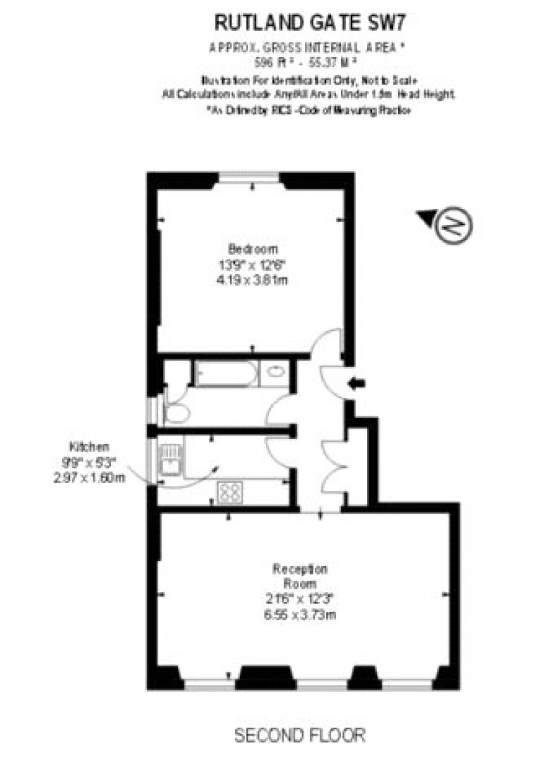 Floorplans For Rutland Gate, Knightsbridge, SW7