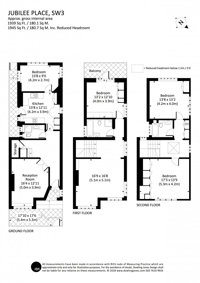 Floorplans For Jubilee Place, Chelsea