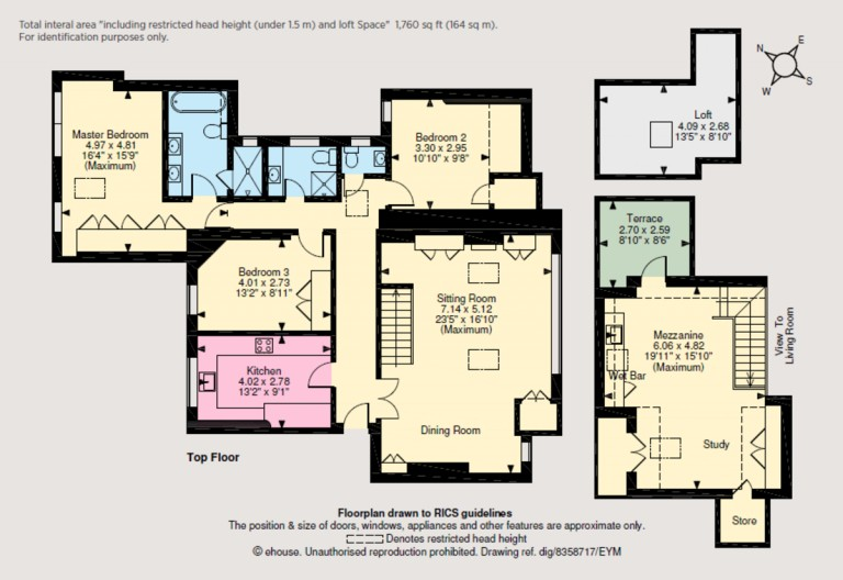 Floorplans For St Loo Avenue, Chelsea, SW3