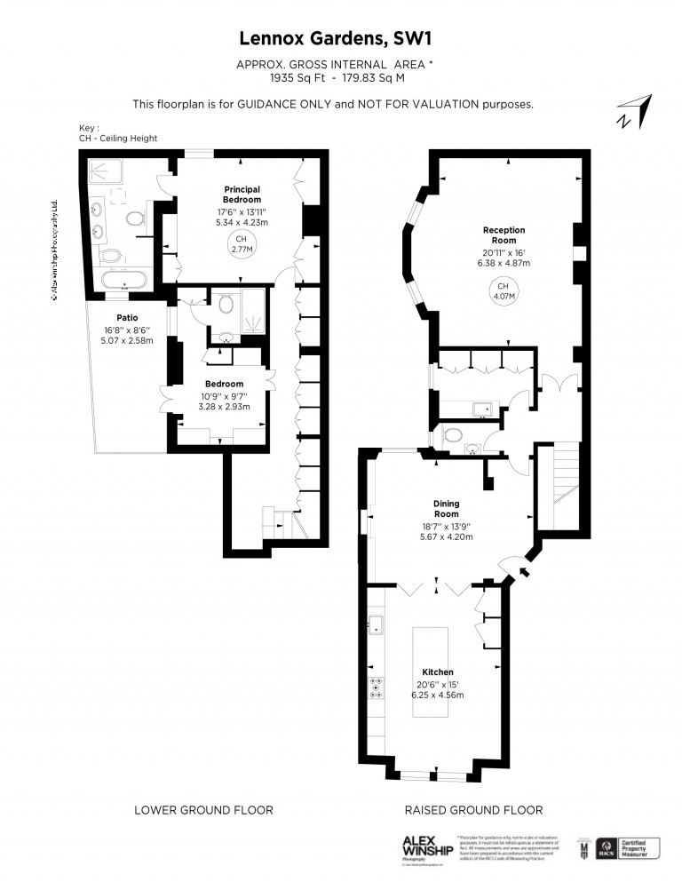 Floorplans For Lennox Gardens, Knightsbridge, SW1X
