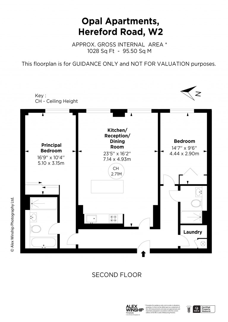Floorplans For Opal Apartments, Westbourne Grove, W2