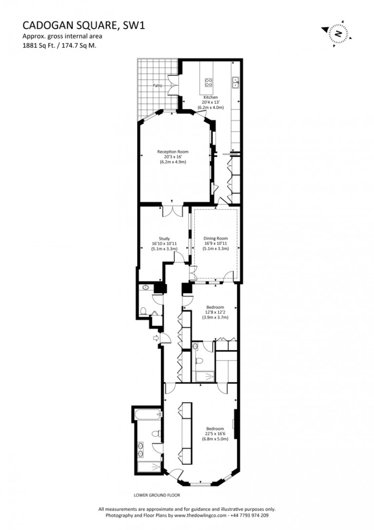 Floorplans For Cadogan Square, Knightsbridge, SW1X